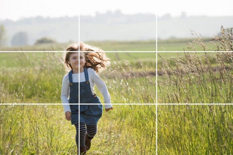 rule of thirds photography composition
