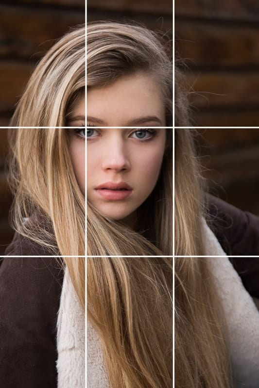 photography composition rule of thirds technique