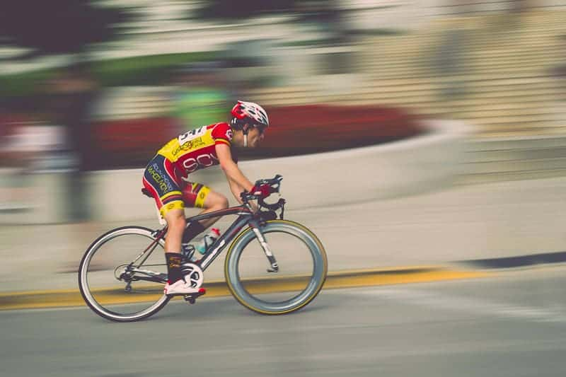 Capturing motion blur with panning photography