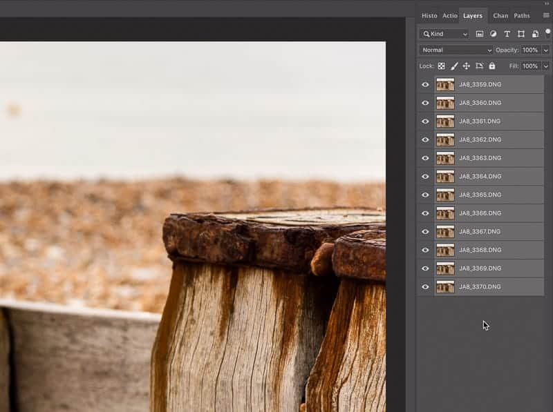 Image stacking tips for deep depth of field