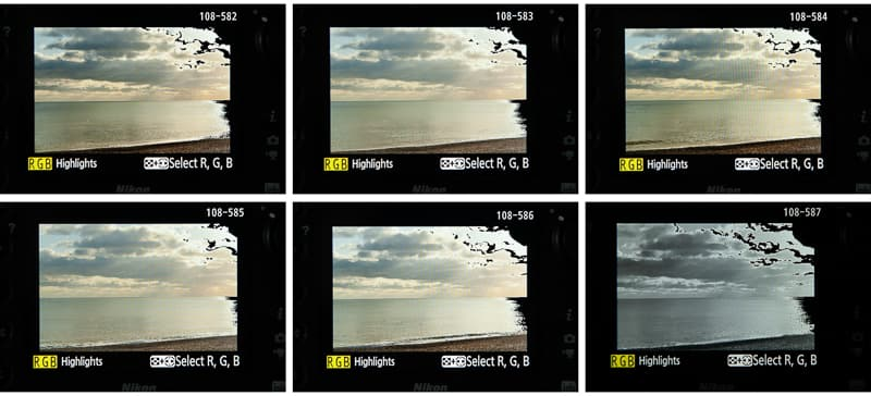 How to shoot in RAW with JPEG LCD image