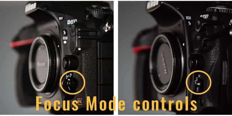 Nikon focus modes for portrait photography