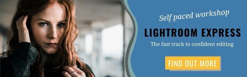 Online Lightroom workshop for professional photo editing