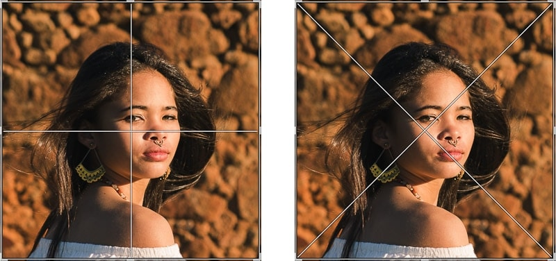 New centered crop overlay in Lightroom