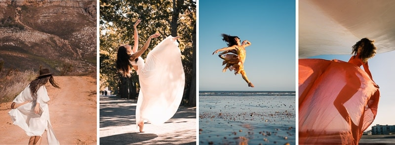 How to capture movement in portraits