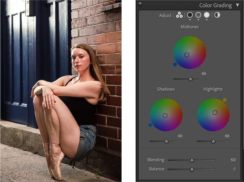 Color grading Lightroom update