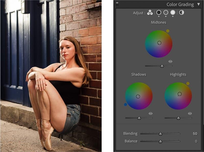 color grading upgrade in lightroom