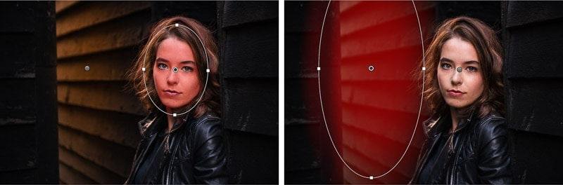 How to use radial filters in Lightroom