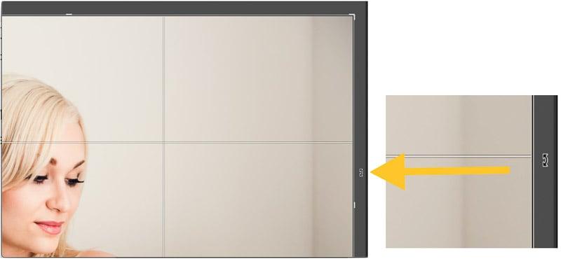 Manually straighten photo in Lightroom