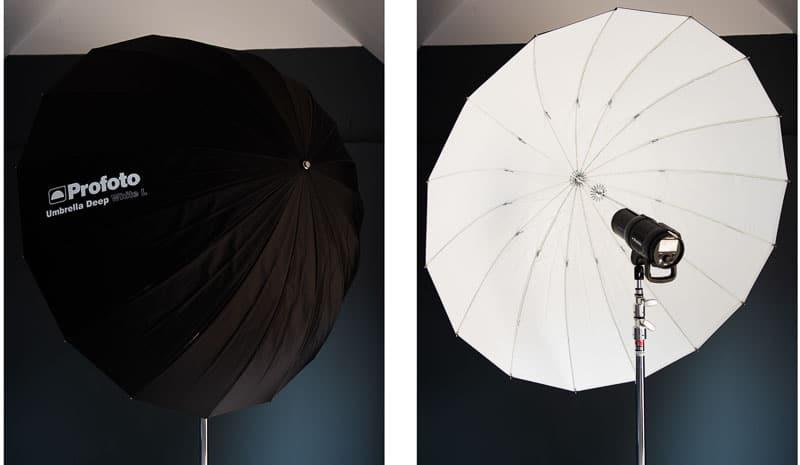 large deep umbrella