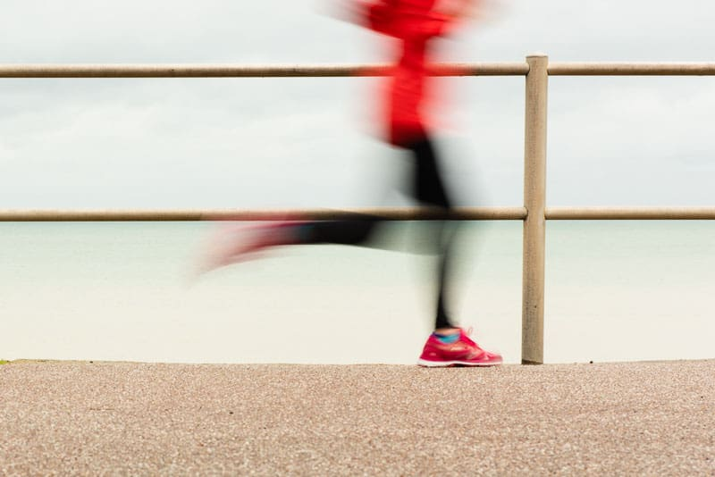 motion blur in photos from slow shutter speed